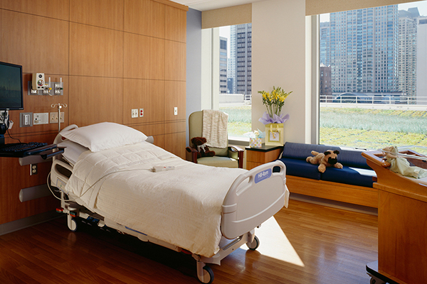 Northwestern Hospital Patient Rooms